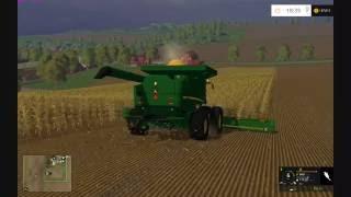 Farming Simulator 2015:  John Deere Corn Harvest HD