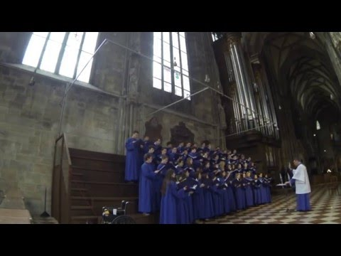 Notre Dame Liturgical Choir - Concert at St. Stephen's Cathedral, Vienna
