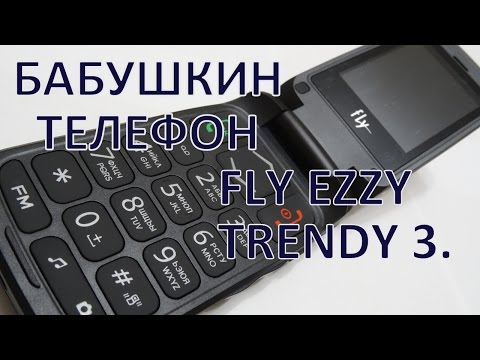 Бабушкин телефон. Fly Ezzy Trendy 3.