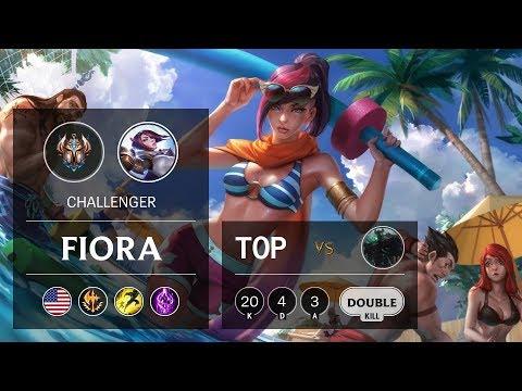 Fiora Top vs Mordekaiser - NA Challenger Patch 9.24