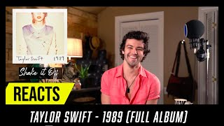 Producer Reacts to ENTIRE Taylor Swift Album  - 1989
