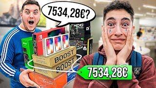 Si este youtuber adivina el precio de los objetos se los compro... *mucho dinero*