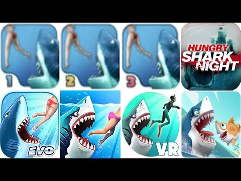 ALL HUNGRY SHARK GAMES THROUGH THE YEARS (2010 - 2019)