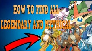 How To Find ALL Legendary and Mythical | Pokemon Brick Bronze