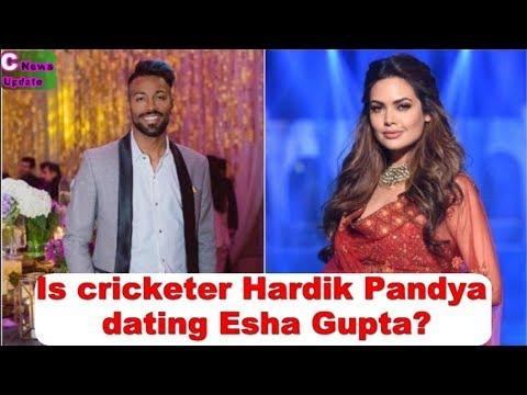 OMG! Cricketer Hardik Pandya is dating Esha Gupta?