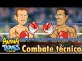 ANIMATUNES - Combate técnico