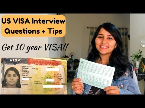 USA Tourist Visa Interview For Indians 2020 | Questions, Rejection Reasons & Interview Experience
