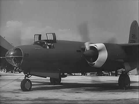 Martin B-26 Marauder Medium Bomber - 1941 - CharlieDeanArchives / Archival Footage