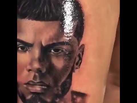 Anuel Aa Tatuaje En La Mano Brr Youtube