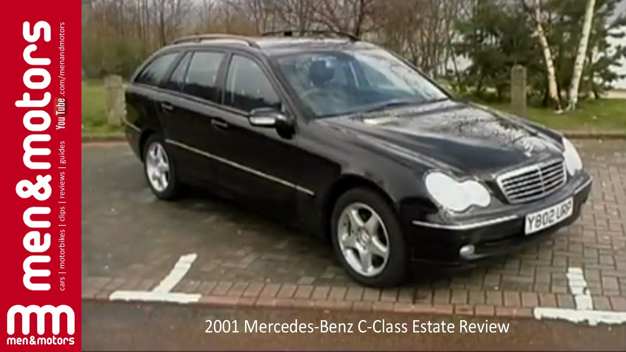 2001 mercedes benz c class estate review youtube. Black Bedroom Furniture Sets. Home Design Ideas