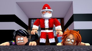 WE HAVE BEHAVED VERY BAD THESE CHRISTMAS IN FLEE THE FACILITY ROBLOX 😱