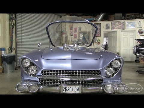 Bubble Car Beatnik - 1955 Ford at Chopit Kustom in Orange County from Eastwood