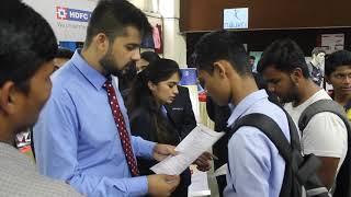 Suryadatta's students at Mega EXPO - Group representing HDFC Bank