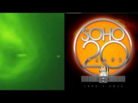 NASA SOHO Official Image Saucer UFO! Taking Energy from OUR Sun! ScoopBoxTv Exclusive!