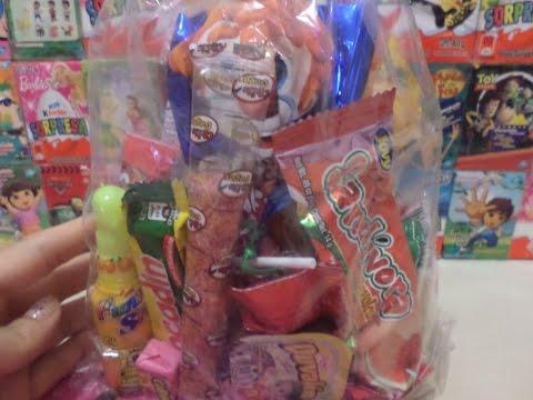 BAG OF ASSORTED CANDY FOR PARTY / Bolsa de Dulces Surtidos para Fiesta