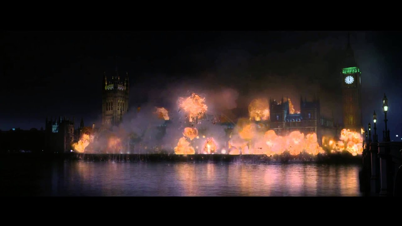 V For Vendetta - Finale Scene - YouTube