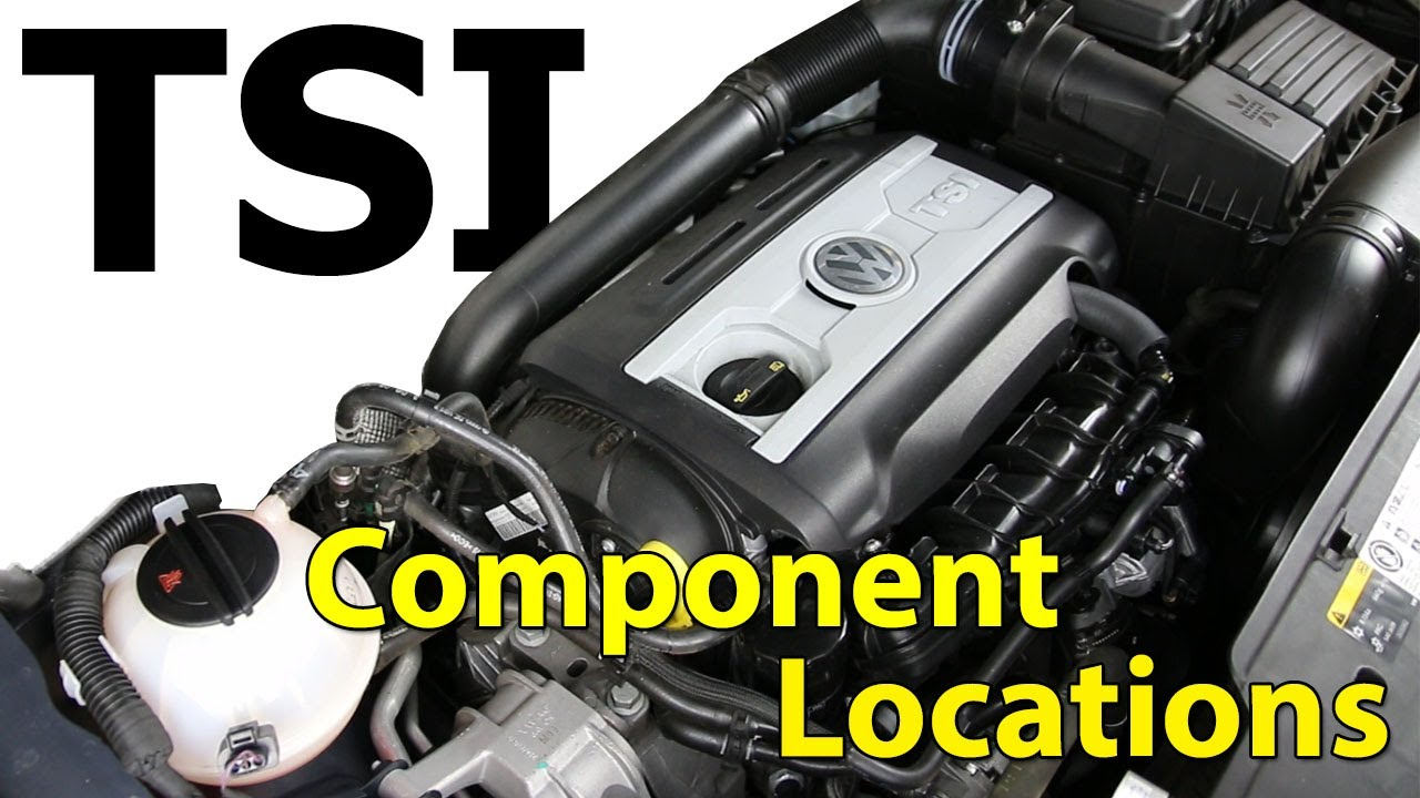 [SCHEMATICS_48DE]  2.0t TSI VW Engine Component Location - YouTube | Vw 2 0 Tsi Engine Diagram |  | YouTube