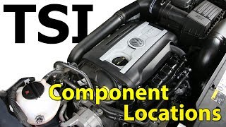 2.0t TSI VW Engine Component Location