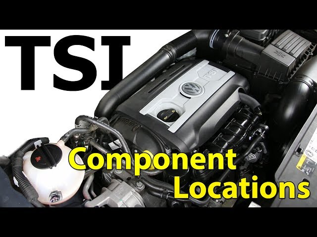 20t TSI VW Engine Component Location - YouTube
