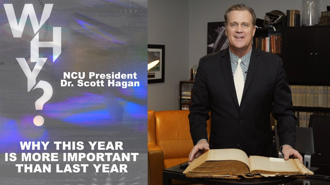 Why This Year Is More Important Than Last Year | Dr. Scott Hagan