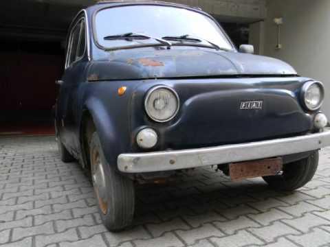 942653db084a1 FIAT 500 L DEL 1970 DA RESTAURARE - YouTube