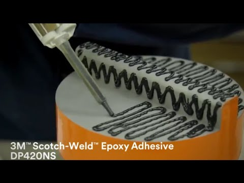 3M Assembly Solutions: Epoxy Adhesive Demonstrating Strength