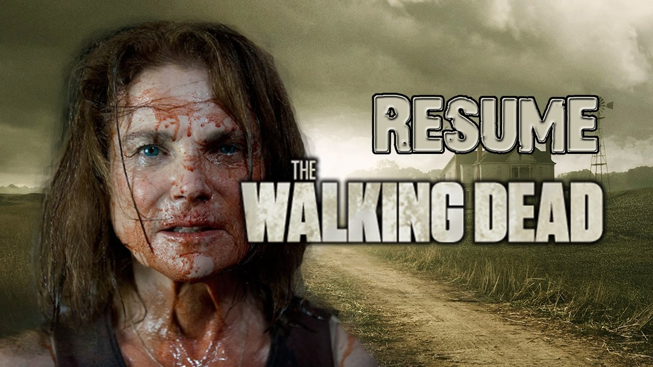resume when does walking dead resume wpazo resume for everyone