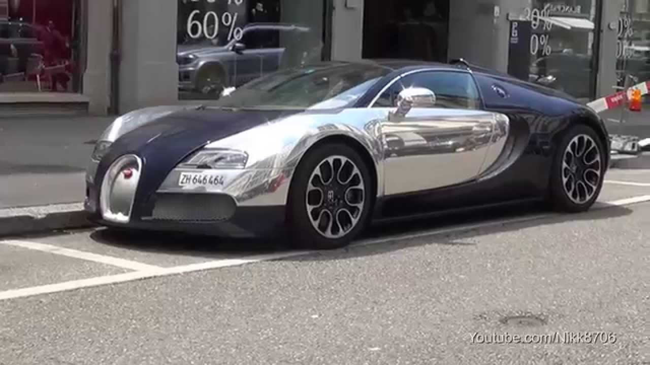 Bugatti Veyron 16.4 Sang Bleu (Chrome/Blue Carbon) - YouTube Bugatti 2014 Chrome