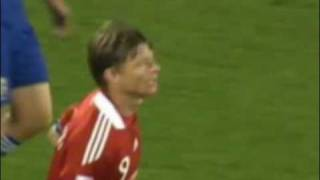 World cup. Goal. Penalty. Tomasson. Japan - Denmark 2:1