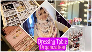 My Dressing Table Tour ~ Dressing Table Organization in Tamil | Makeup💄&Jewellery Organization