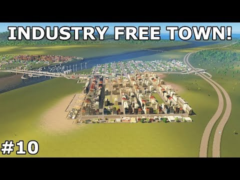 INDUSTRY FREE  TOWN! | European Town - Season 3 | Cities: Skylines - Xbox One #10