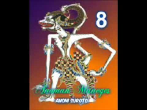Wayang Kulit Dalang Kondang Anom Suroto Lakon ~ ANOMAN MANEGES Part 88