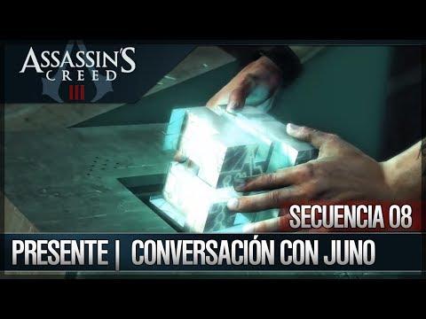 Assassin's Creed 3 - Walkthrough - Presente - Entrada al templo - Conversación Juno [3] Secreto