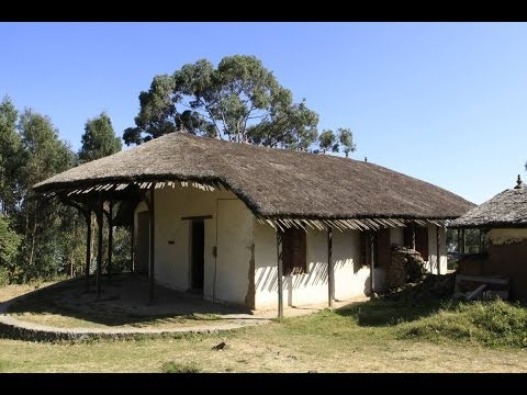 Palast von König Menelik II. in Addis Abeba