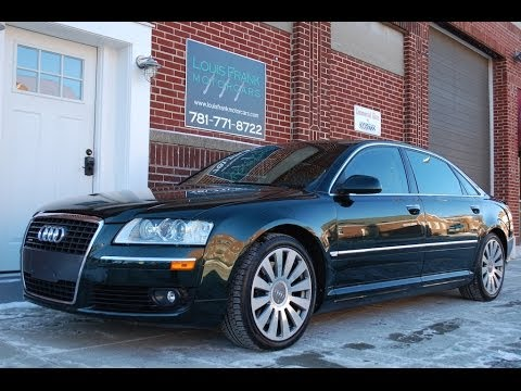 Audi A L Walkaround Presentation At Louis Frank Motorcars - 2006 audi a8