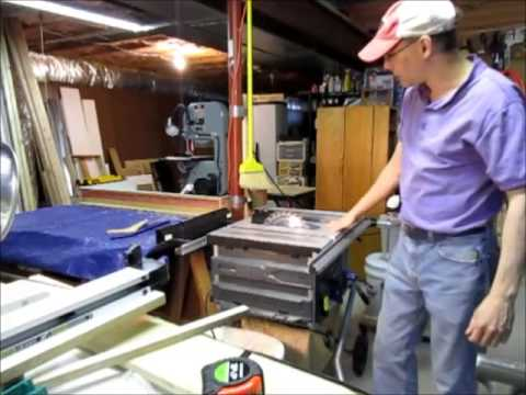 hqdefault kobalt table saw tips raising blade, aligning fence youtube Powermatic 66 Table Saw at eliteediting.co
