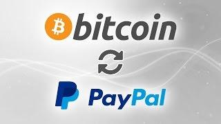 Как обменять криптовалюту Bitcoin на деньги платежной системы PayPal?
