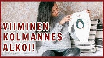 RASKAUSVIIKKO 29 fiiliksiä, vauvahankintoja & vauvahuoneen suunnittelua | Vlogmas #7