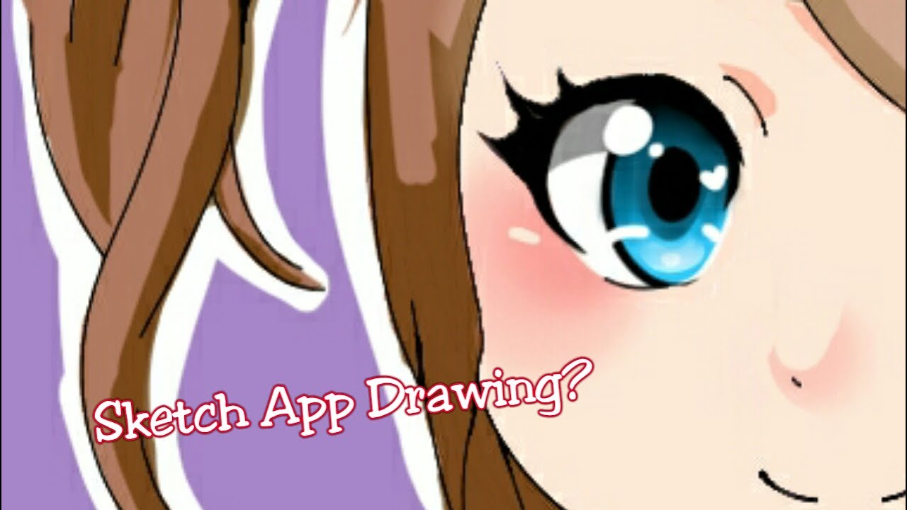 Drawing On Sketch App Youtube