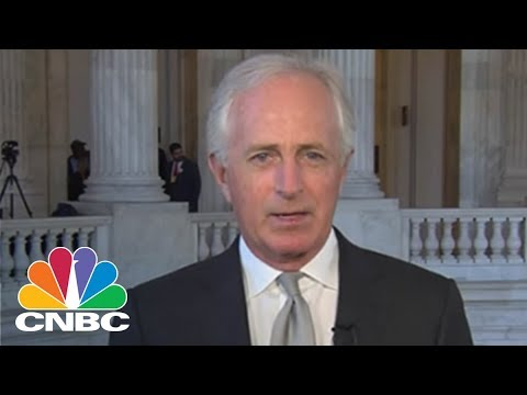 Senator Bob Corker On President Donald Trump's Cabinet Shuffle | CNBC