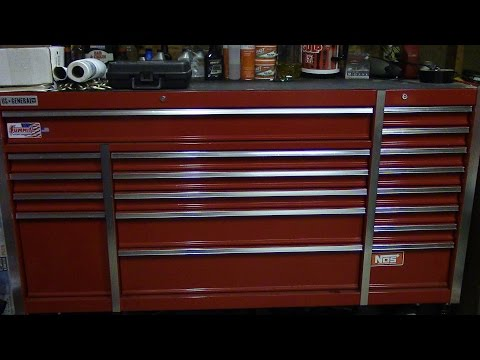 us general 72 inch toolbox review after 1 year ( toolbox tour )
