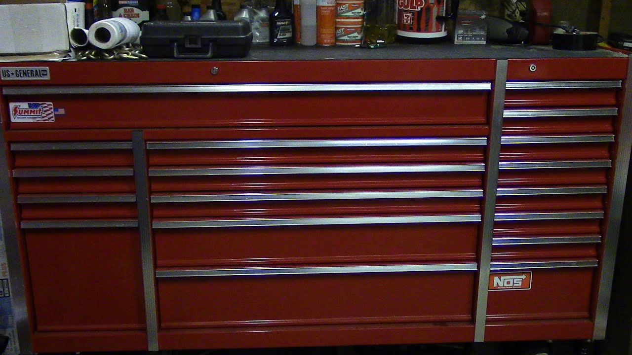 us general 72 inch toolbox review after 1 year toolbox tour