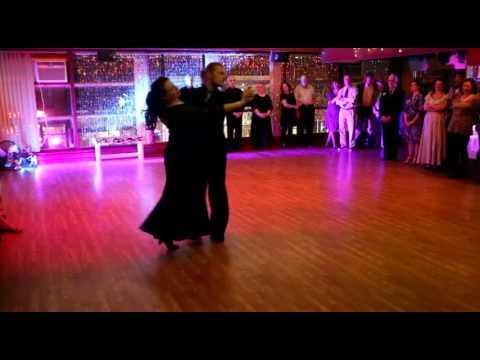 Let's Dance Studio Roman & Jennifer Waltz Showcase