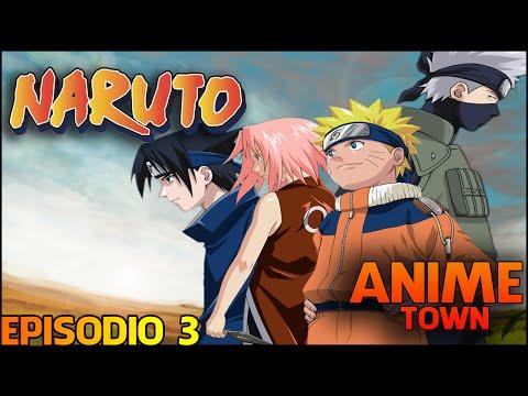 Naruto Clássico Dublado-Episodio 3 -  Sasuke e Sakura: Amigos ou Inimigos?[HD]