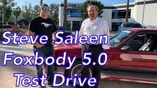 Test Drive! Steve Saleen Foxbody review with Revan Evan — 1988 Saleen 5.0 Ford Mustang Retrospect