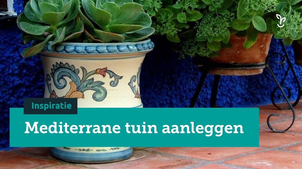 Beste Mediterrane tuin aanleggen - DIY en inspiratievideo - YouTube IX-34