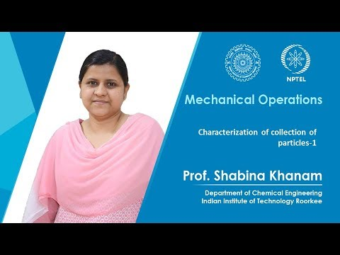 Characterization of collection of particles-1