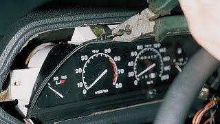 Панель приборов водителя. Правильная разборка. ВАЗ 2110