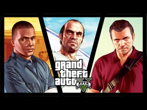 GTA V - Franklin vs. Trevor vs. Michael (sem spoilers)