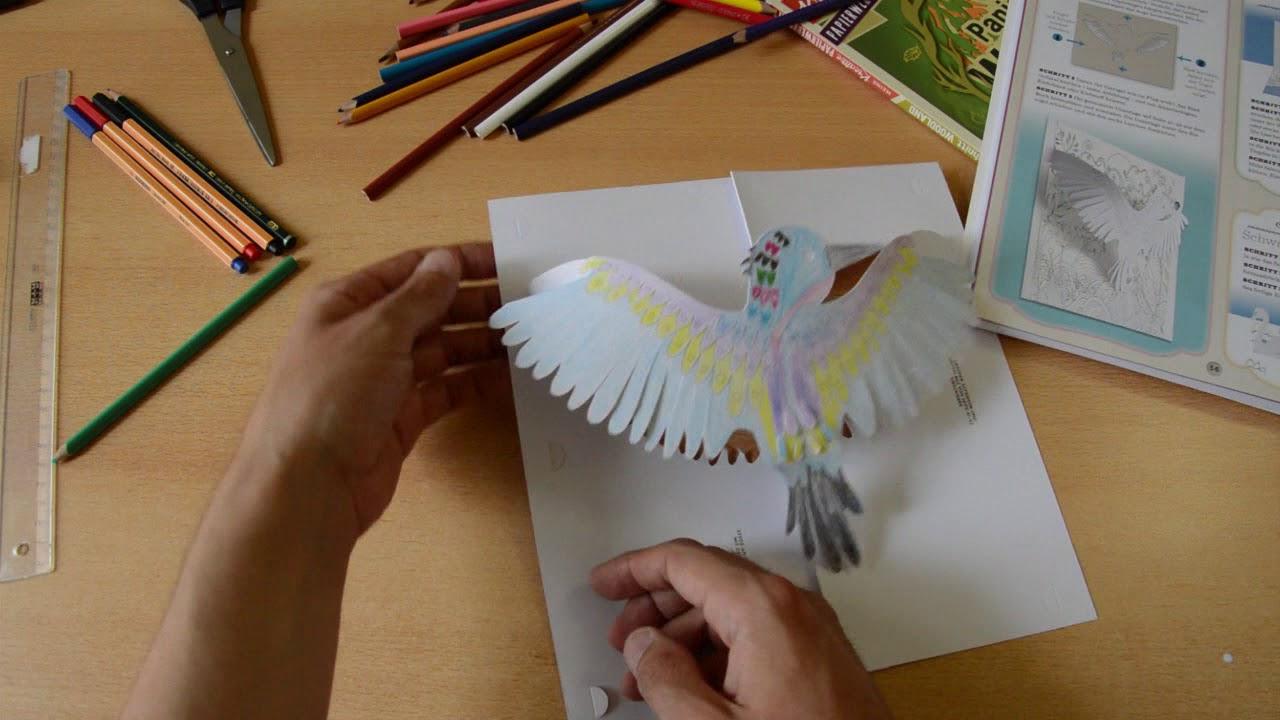 Basteln Mit Papier: 3D Papierkunstwerke Aus Einem Blatt